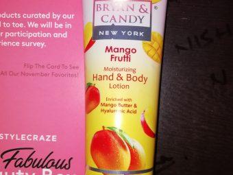 Bryan & Candy New York Mango Frutti Hand and Body Lotion -Moisturising body lotion-By nishay