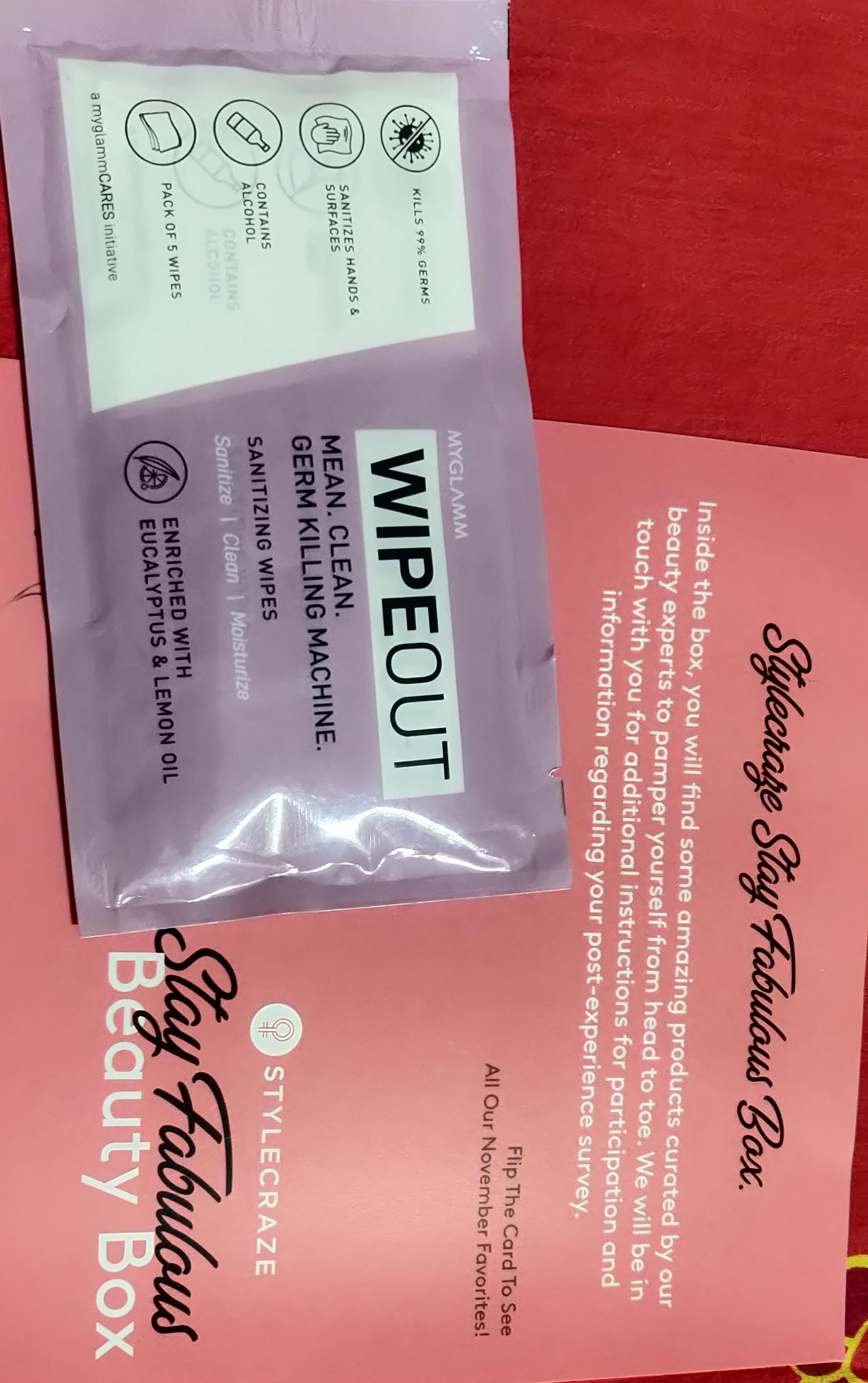 MyGlamm Wipeout Sanitizing Wipes-Wonderful wipes-By chandan_kumar-4