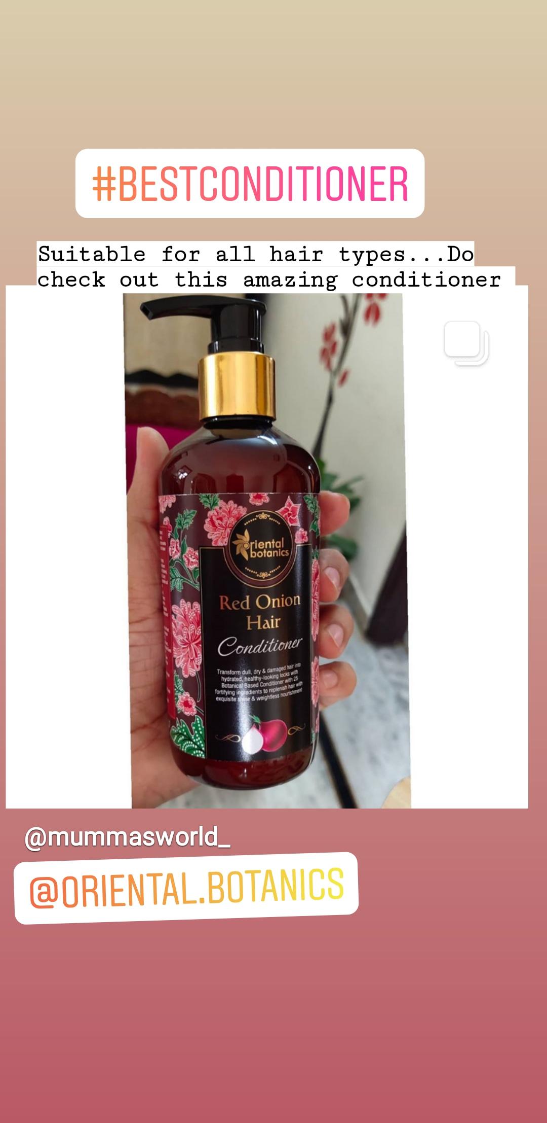 Oriental Botanics Red Onion Hair Conditioner-Very very effective-By sunita_yadav