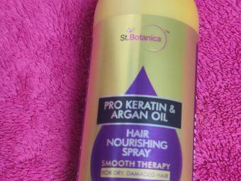 St.Botanica Pro Keratin & Argan Oil Hair Nourishing Spray -Frizz free and happy hair everyday-By shalakaempathy