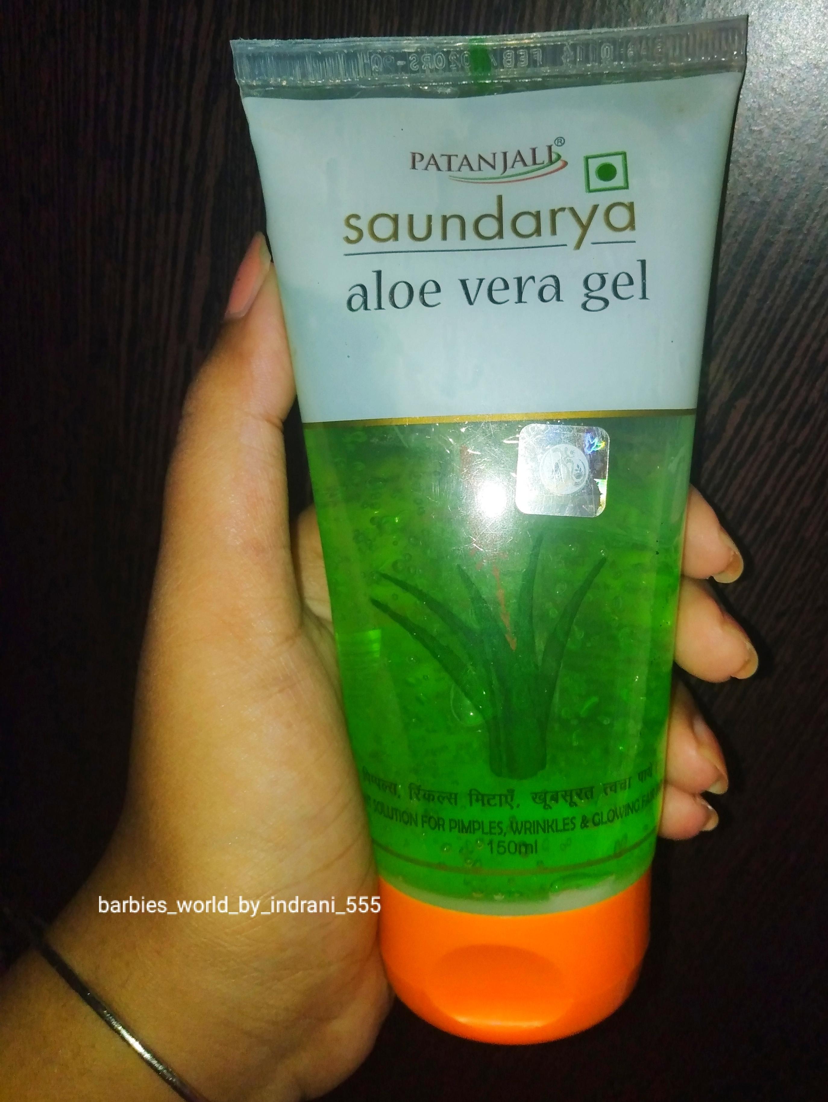 Patanjali Aloe Vera Gel -Affordable & High Quality Aloe Vera Gel-By indranireviews
