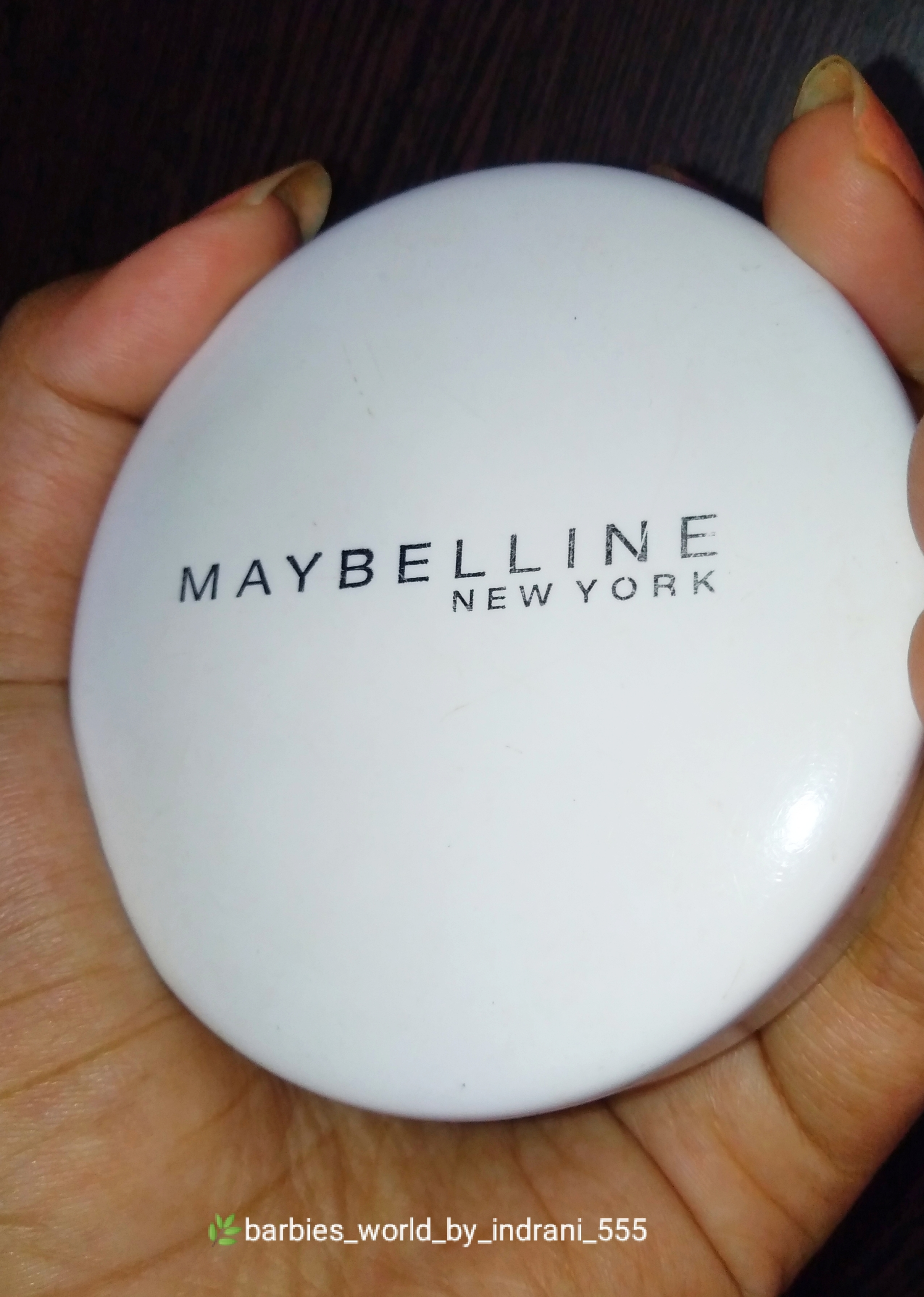 Maybelline New York White Super Fresh Compact -Must Try Compact-By indranireviews