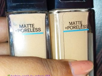 Maybelline New York Fit Me Matte + Poreless Foundation -Best Matte Foundation-By indranireviews