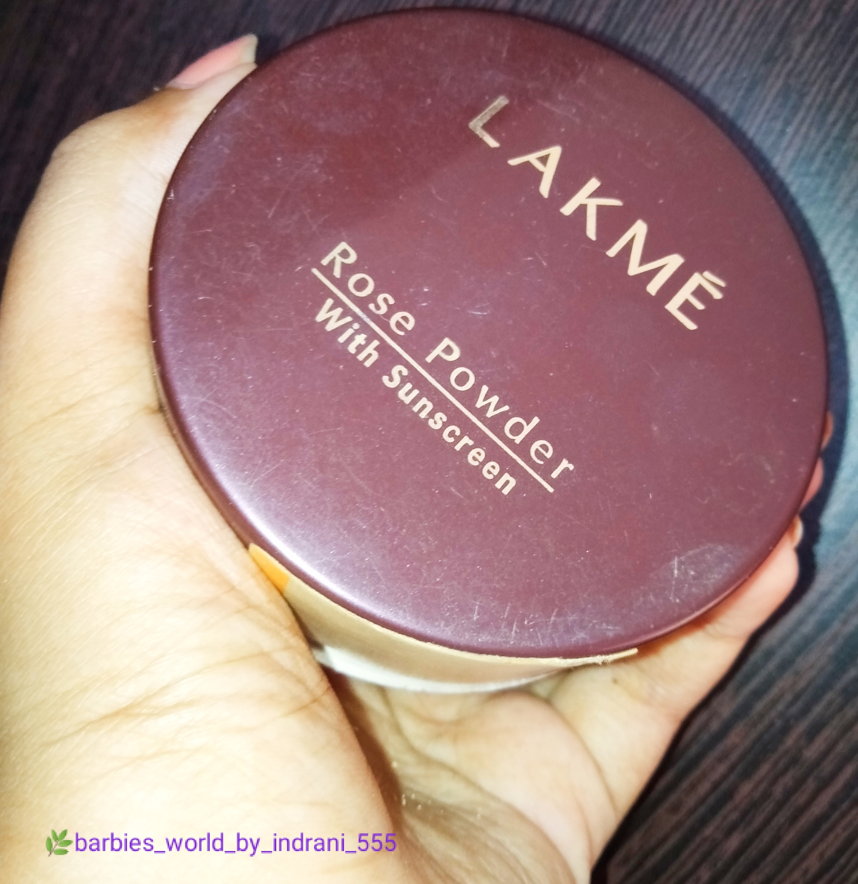 Lakme Rose Powder -Affordable Loose Face Powder-By indranireviews