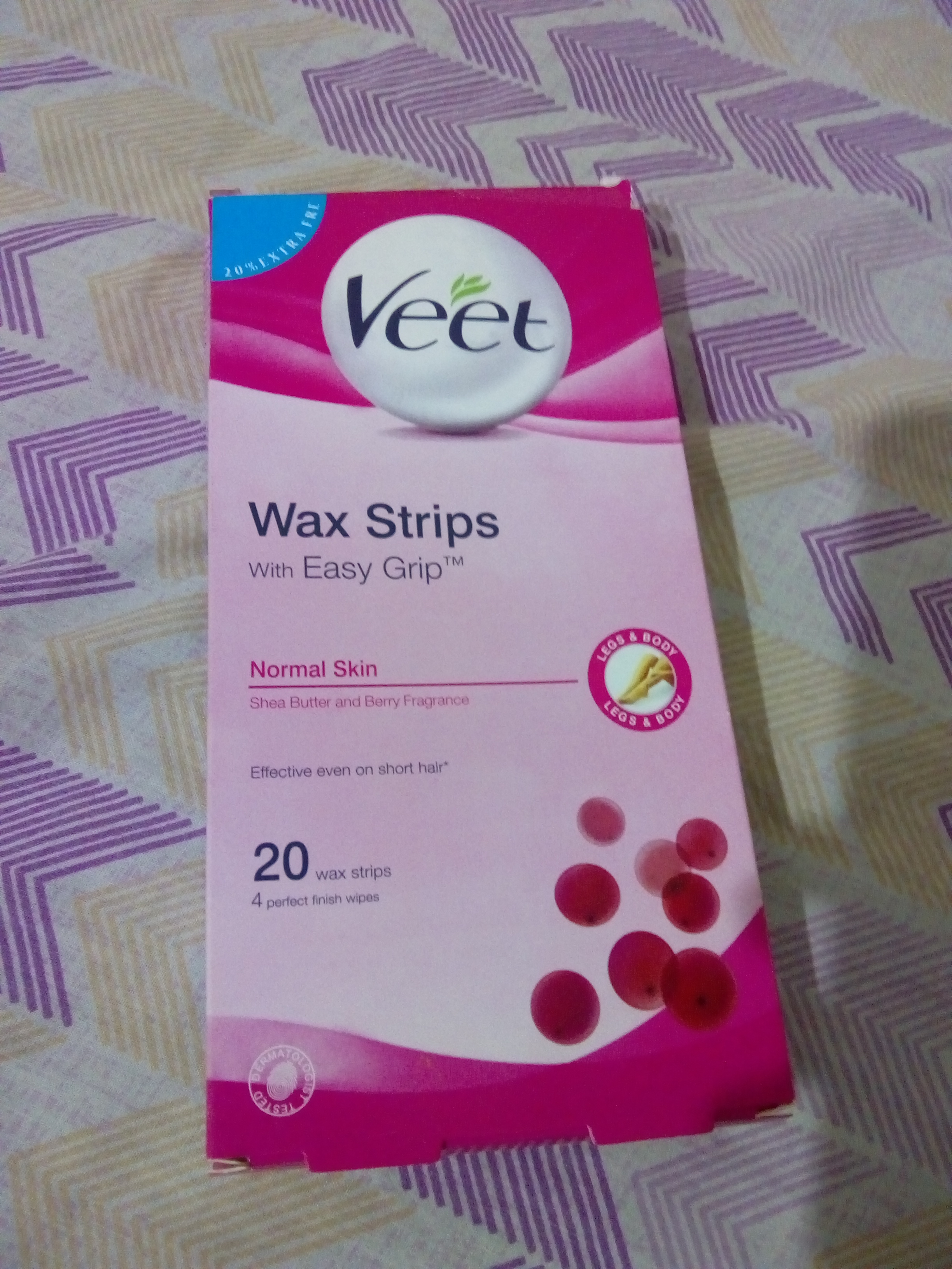 Veet Cold Wax Strips – Instant Waxing Kit-Veet waxing strips-By poorvi_khandelwal