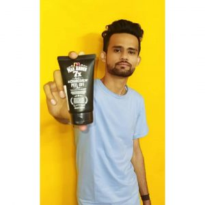 Man Arden 7X Activated Charcoal Peel Off Mask pic 3-best mask for man-By bunny_khan