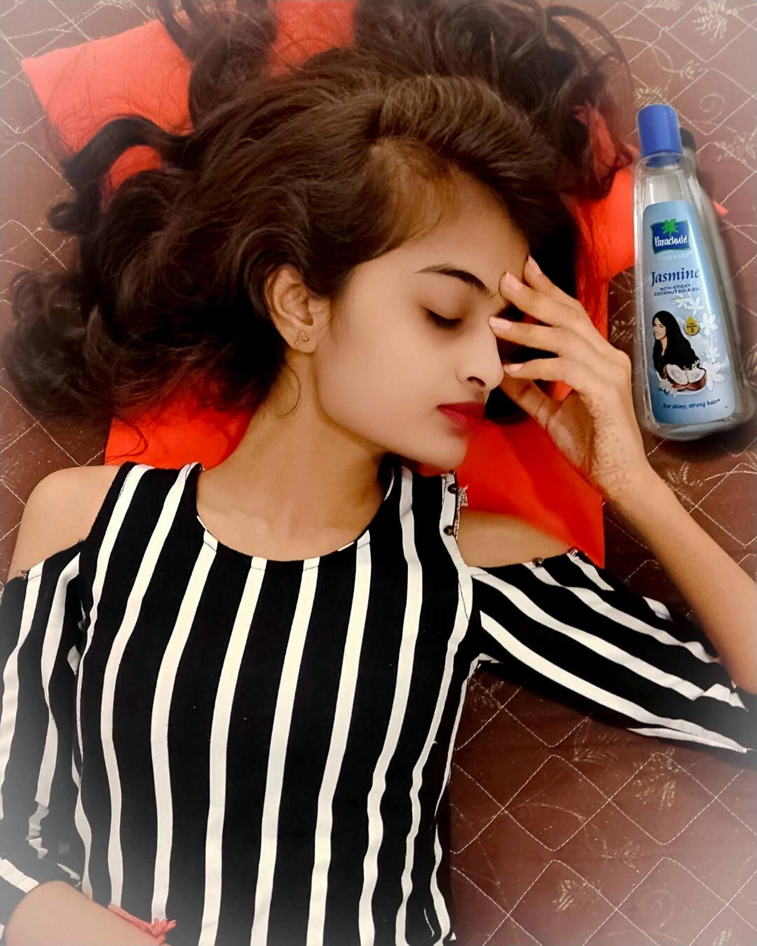 Parachute Advansed Jasmine Hair Oil-Nourishes hairs-By nirali_hapani