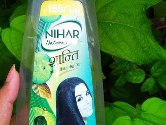 Nihar Shanti Amla Hair Oil -Make Your Hair Strong-By indranireviews