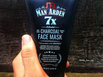 Man Arden 7X Activated Charcoal Face Mask -Amazing product-By subhankar