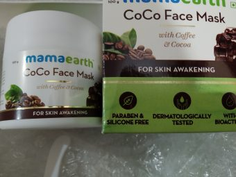 Mamaearth Coco Face Mask With Coffee & Cocoa -Skin awakening-By deenapaike13