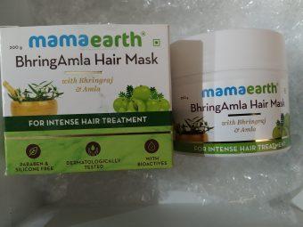 Mamaearth BhringAmla Hair Mask -Intense hair treatment-By deenapaike13