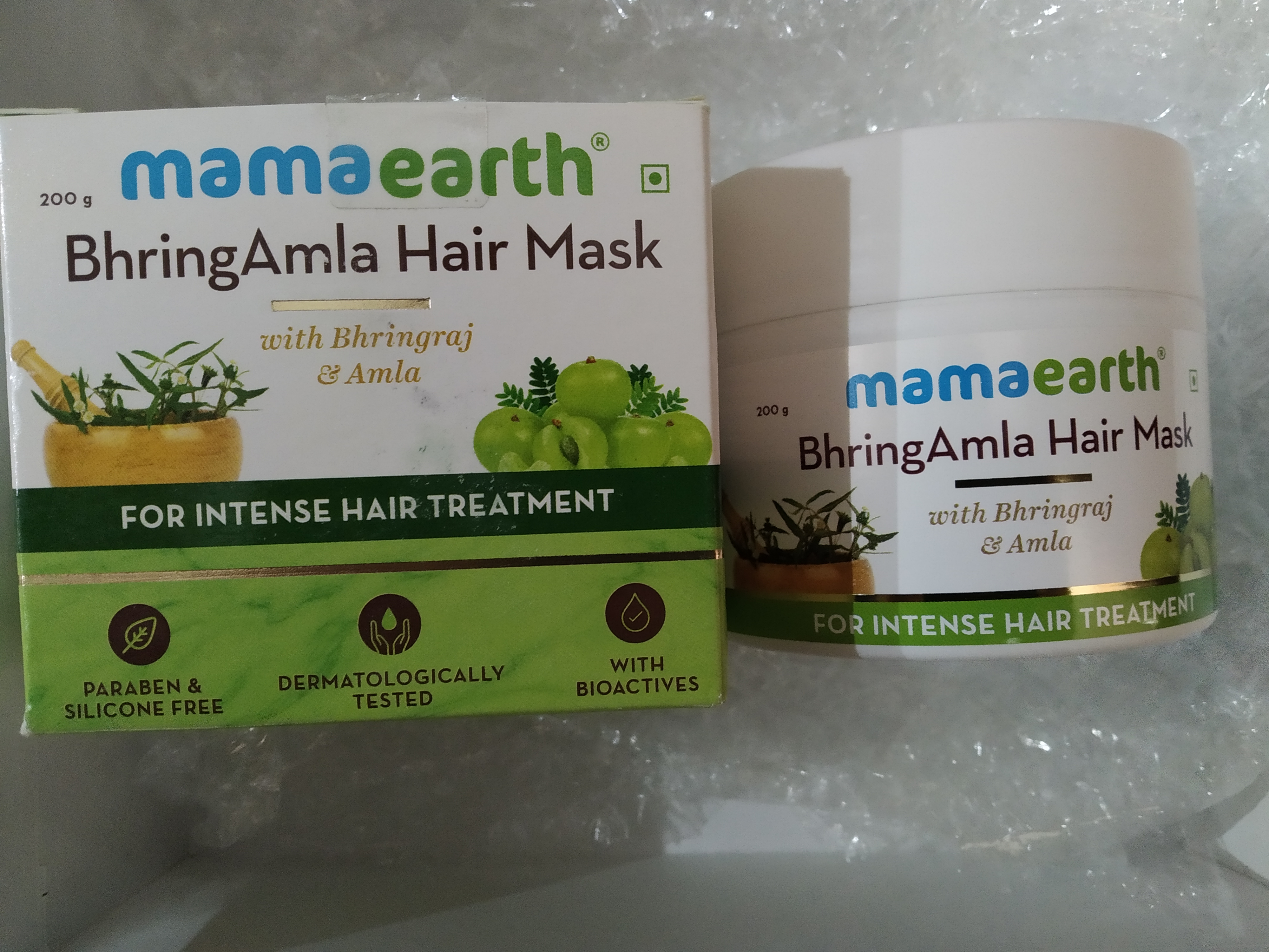 Mamaearth BhringAmla Hair Mask-Intense hair treatment-By deenapaike13