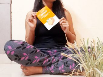 MyGlamm K.Play Mandarin Brightening Sheet Mask pic 1-My first experience with sheet mask-By laila_chakraborty_