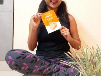 MyGlamm K.Play Mandarin Brightening Sheet Mask pic 2-My first experience with sheet mask-By laila_chakraborty_
