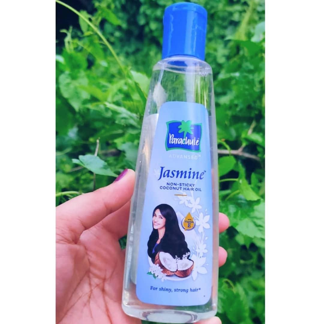 Parachute Advansed Jasmine Hair Oil-Shine with coconut oil-By fashionablepand