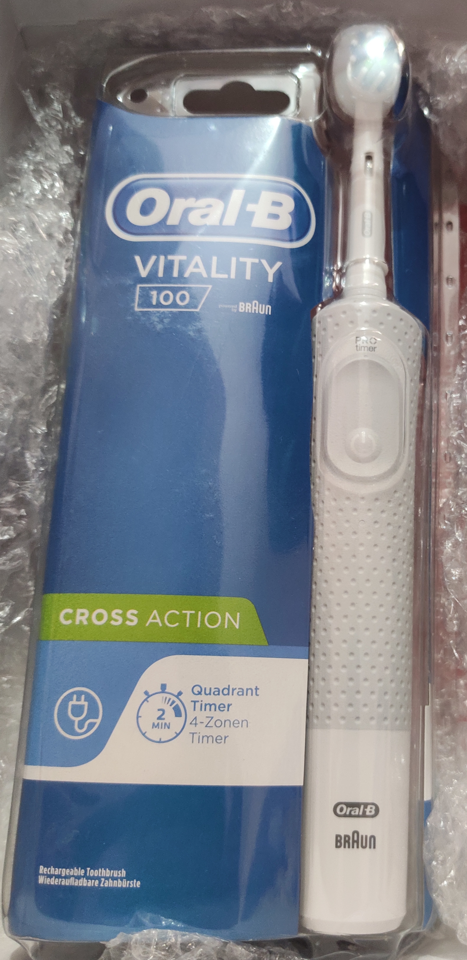 Oral-B Vitality Cross Action Electric Rechargeable Toothbrush -This is amazing!-By kanika_nathawat