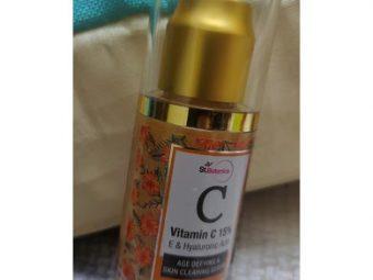 St.Botanica Vitamin C 15% Age Defying & Skin Clearing Serum -Perfect Serum-By gitanjli_swami