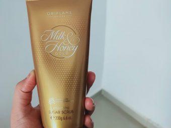 Oriflame Milk & Honey Gold Smoothing Sugar Scrub -Amazing scrub-By mukta_phutela