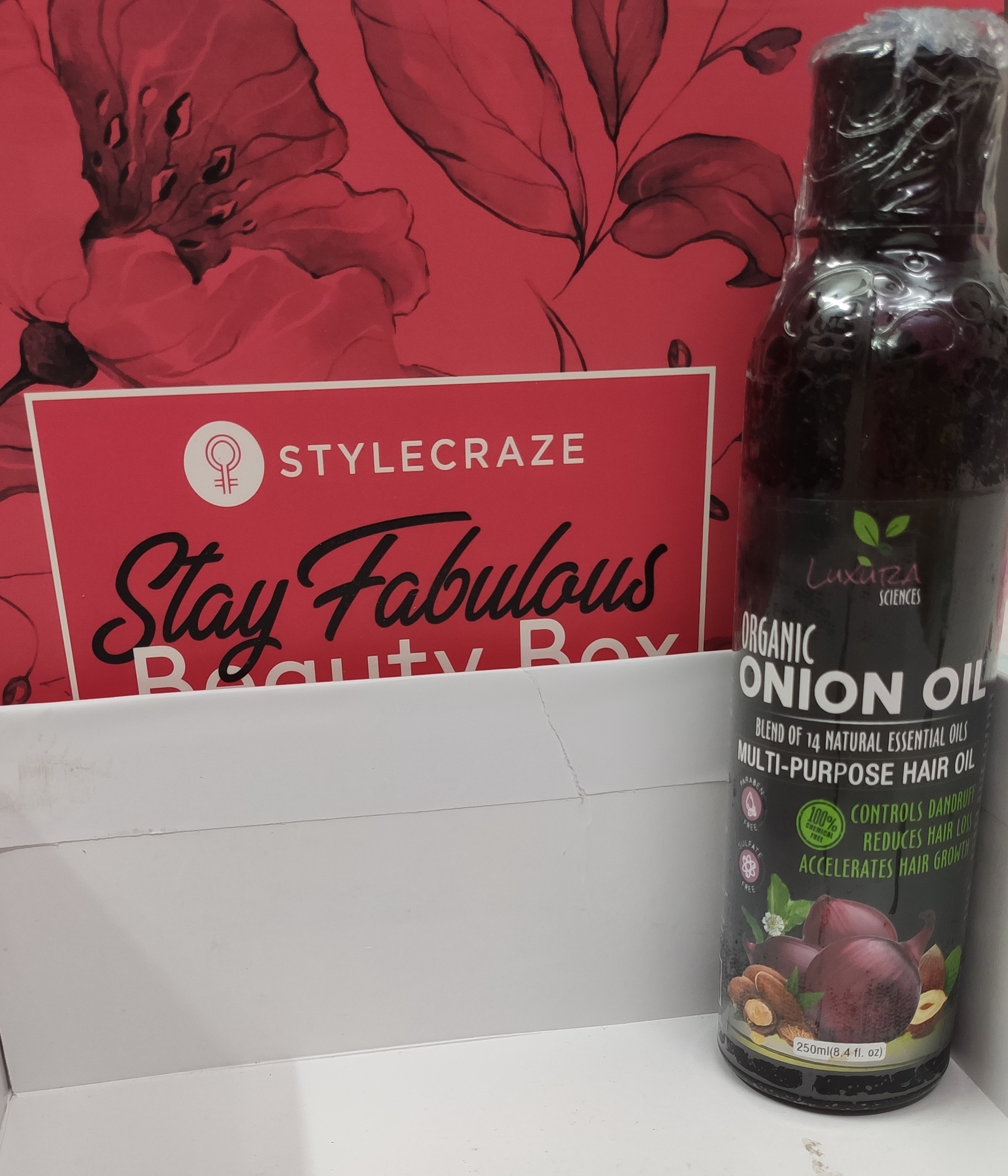 Luxura Sciences Onion Hair Oil 250 ml -A must grab product for hair-By twinkle_tomar_singh