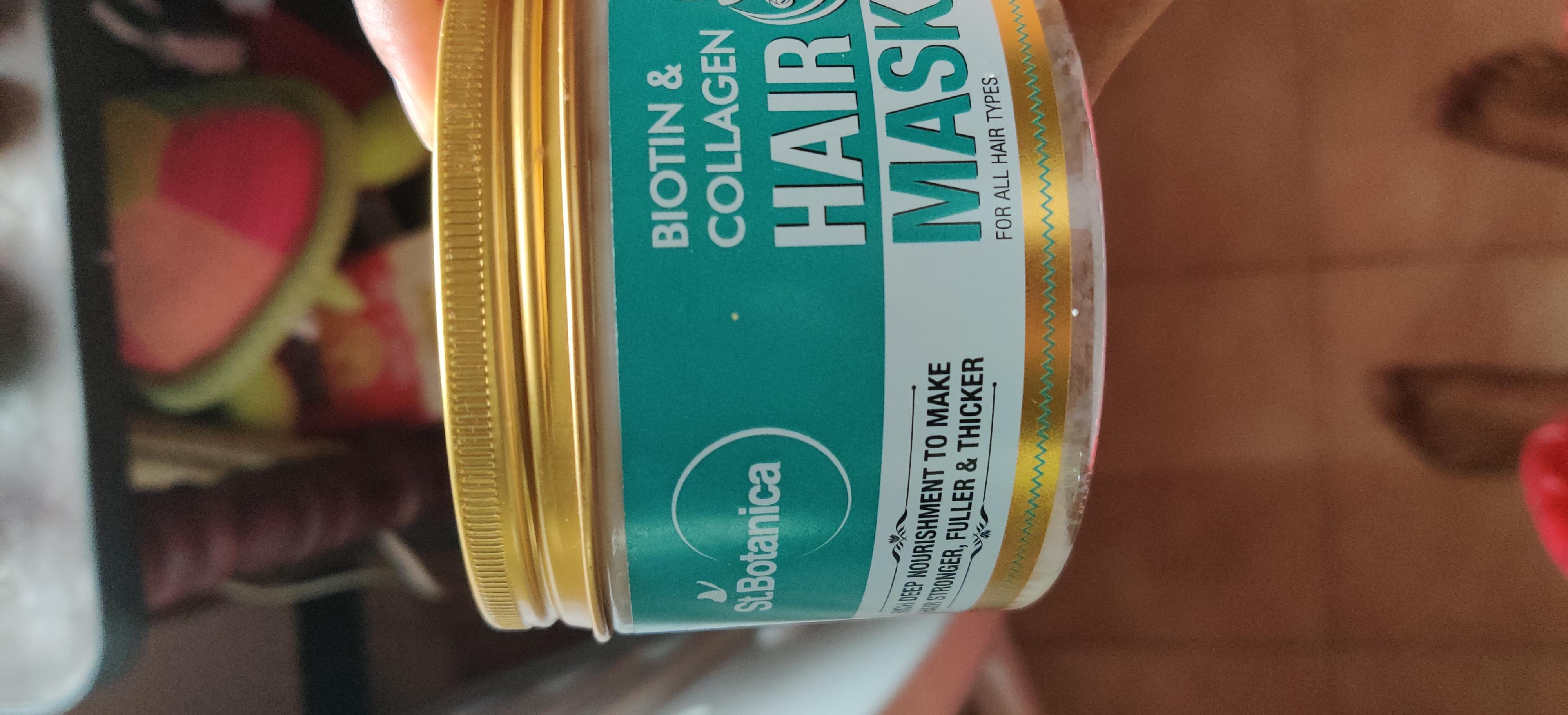 St.Botanica Biotin & Collagen Hair Mask pic 1-Great for smooth hair-By sadhvi_mythili