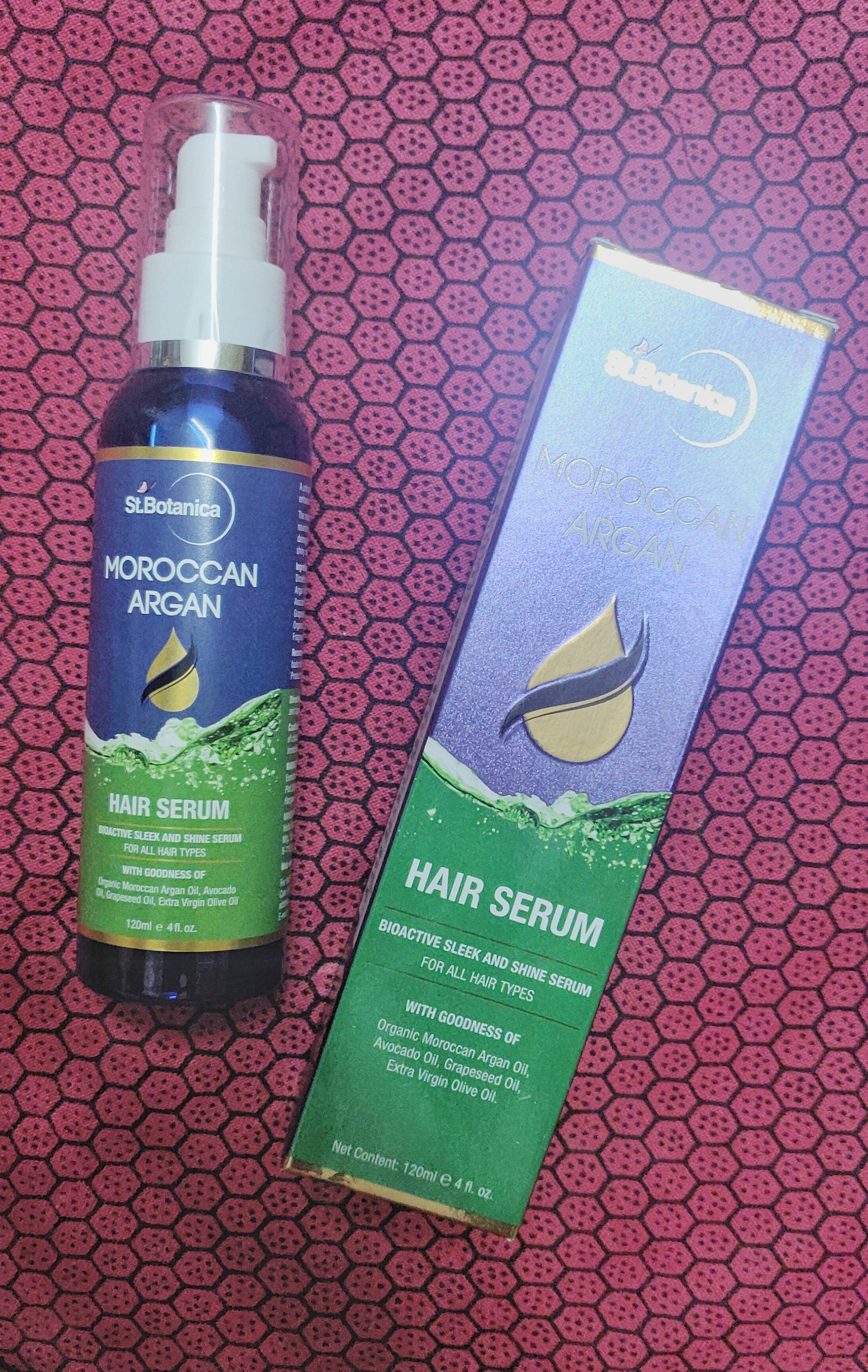 St.Botanica Moroccan Argan Hair Serum pic 1-Helped taming my frizzy hair-By reeni_padmaja