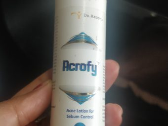 Dr. Reddy's Acrofy Acne Lotion -Amazing product for acne-By mukta_phutela