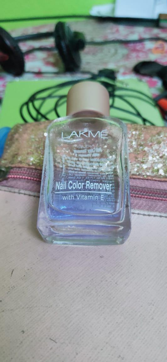 Lakme Nail Color Remover-Average Product-By riya0603-2
