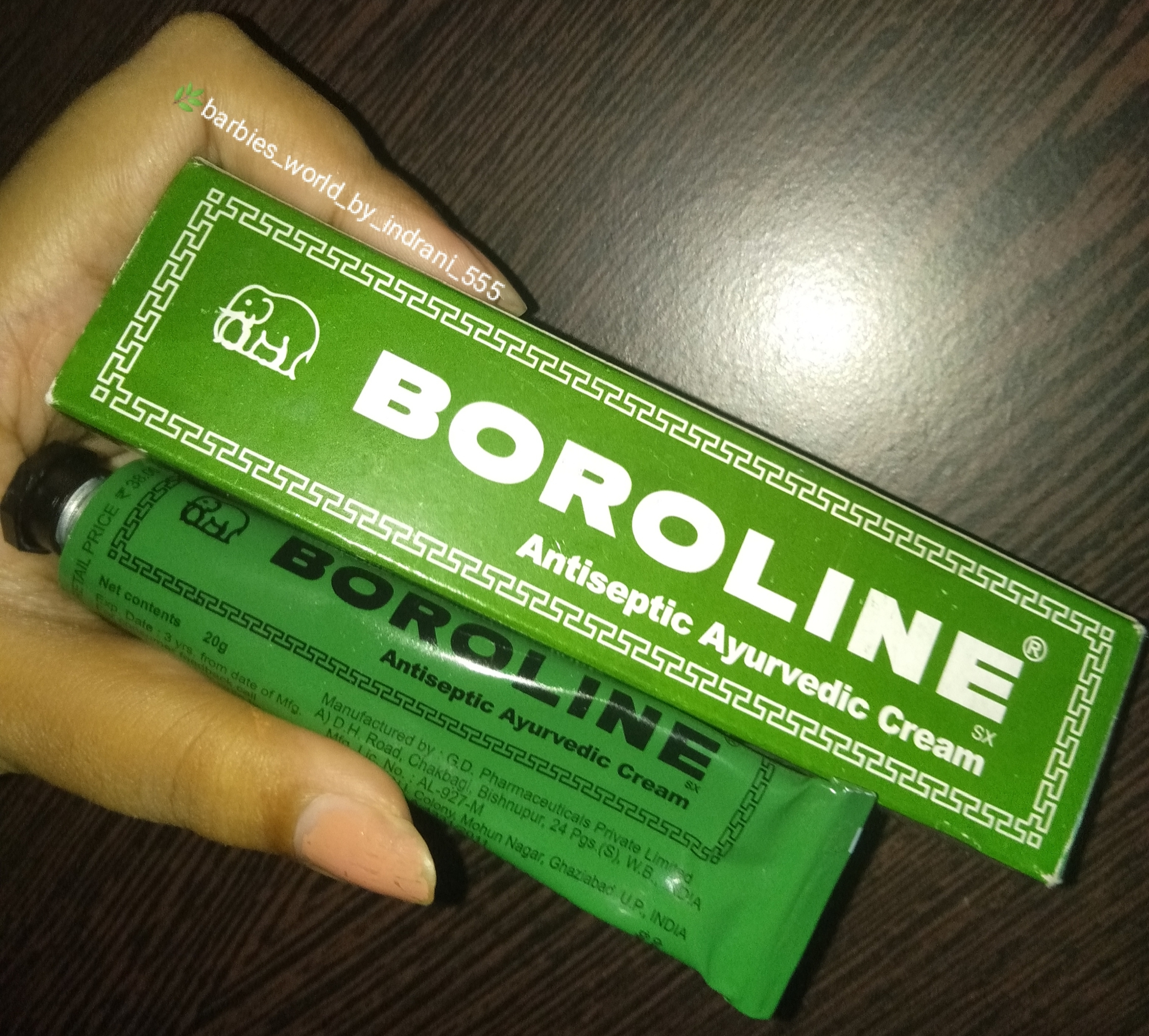 Boroline Antiseptic Ayurvedic Cream-Must have product-By indranireviews-3