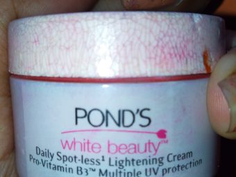Ponds White Beauty Anti Spot Fairness SPF 15 Day Cream -Best For A Fresh Look-By indranireviews