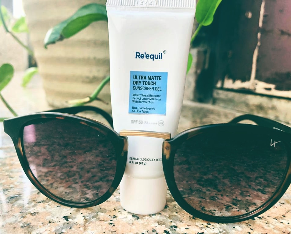 Re'equil Ultra Matte Dry Touch Sunscreen Gel-My protectors from UV rays-By ss_m