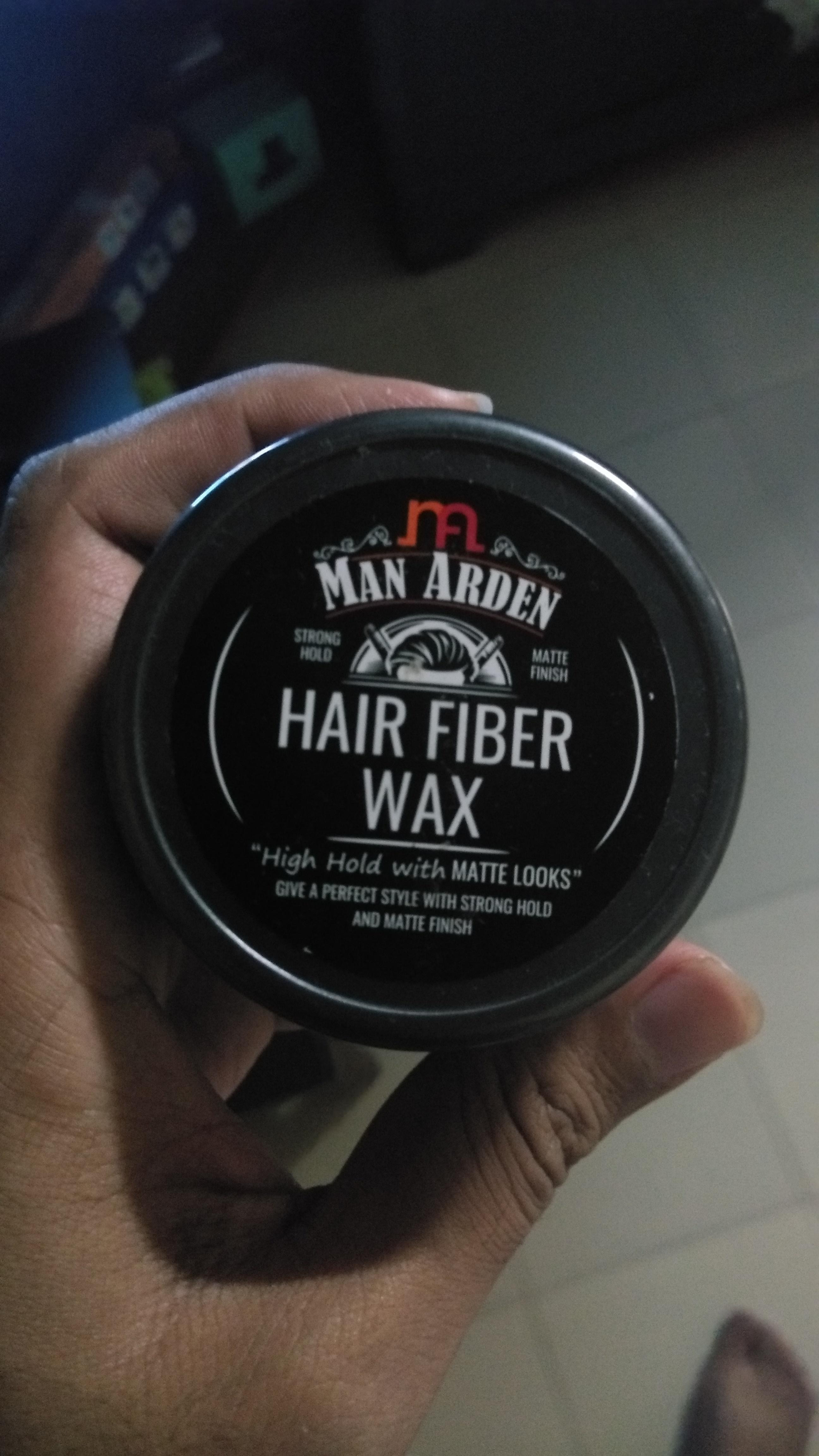 Man Arden Hair Fiber Wax-Best hairstyle product-By pravinrane