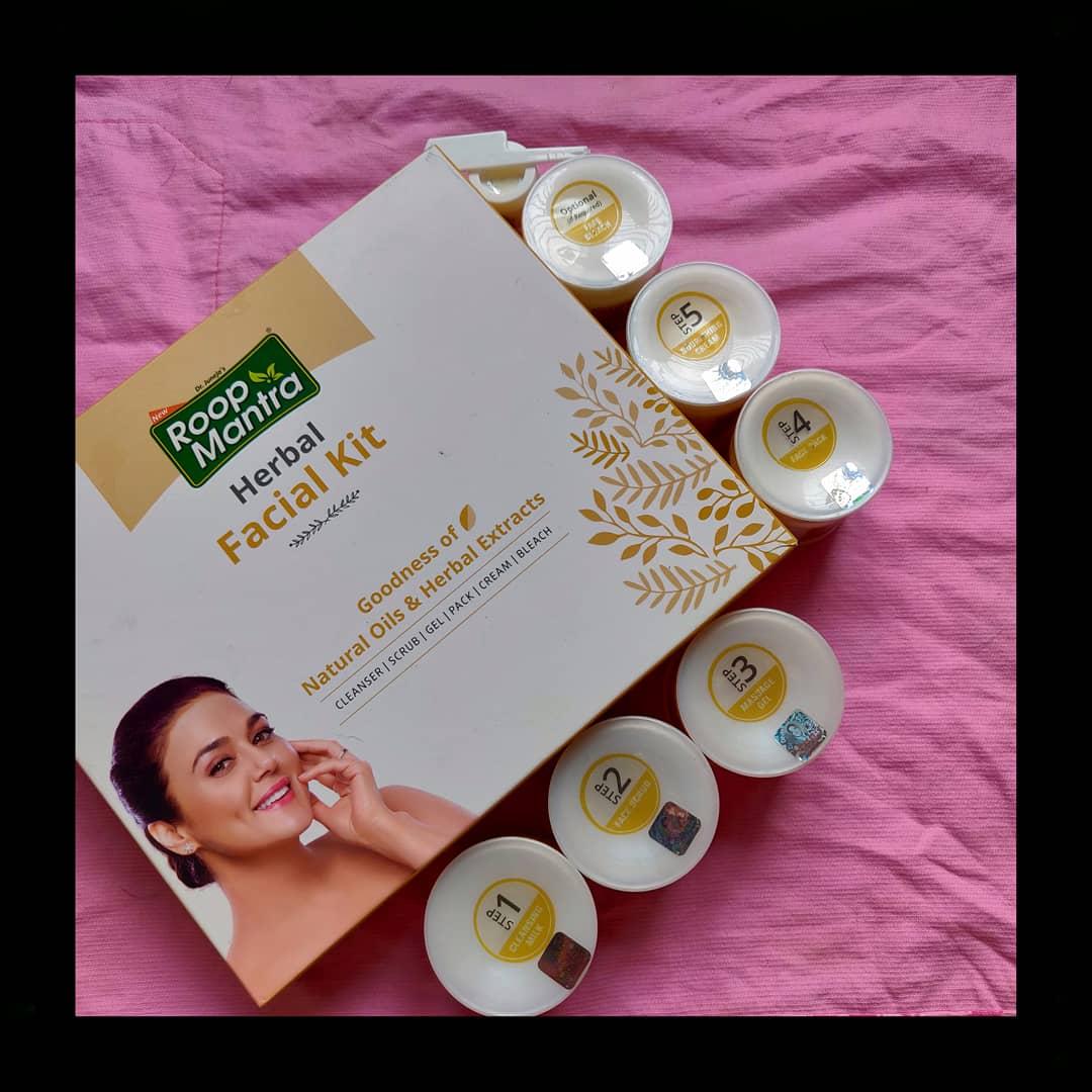 Roop Mantra Herbal Facial Kit-Must Try Kit-By dhrutz21