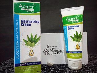 Acnes Aloe Vera With Vitamin E Moisturizing Cream -Best Moisturising Cream By Far-By kritikakathuria