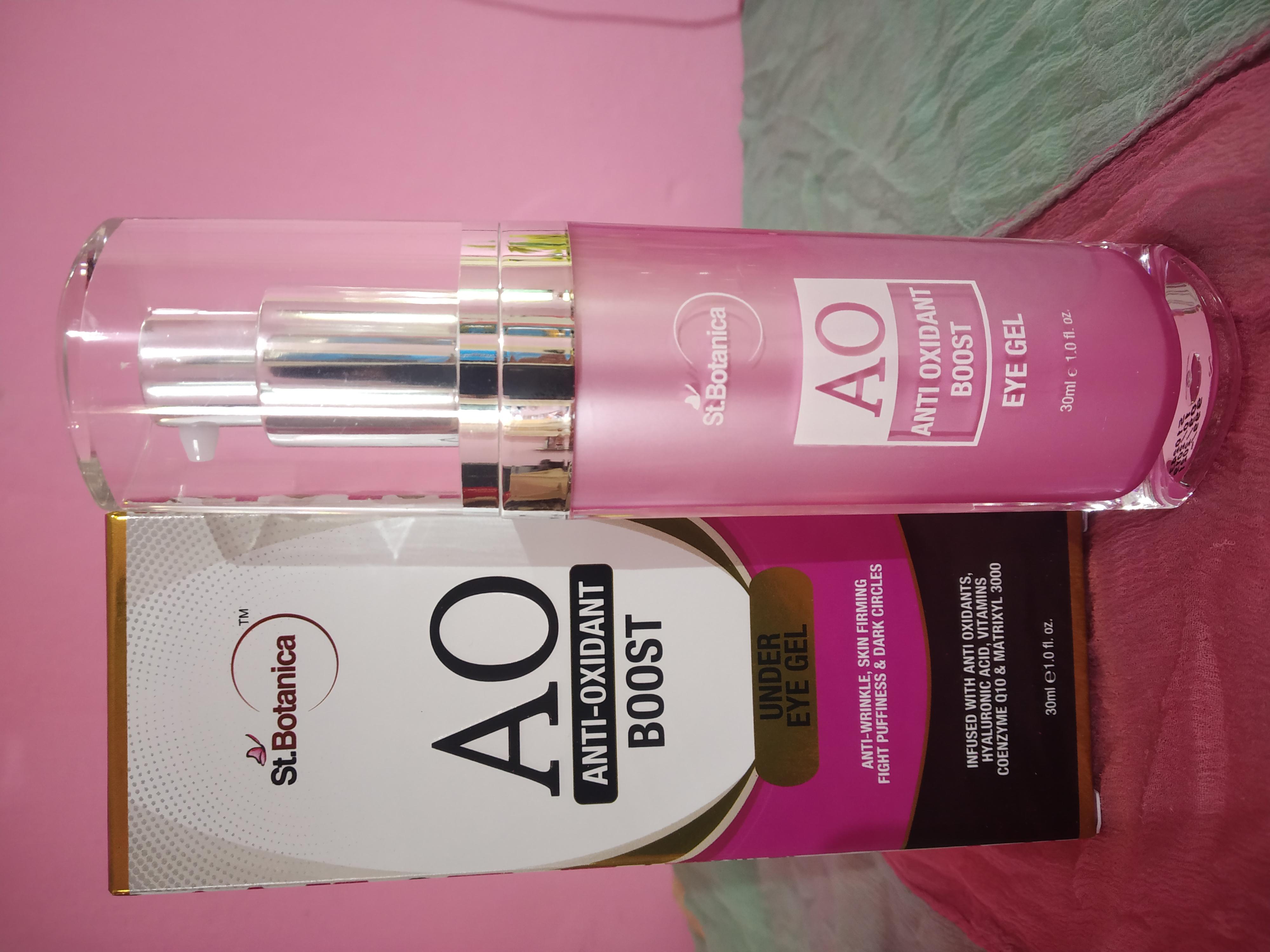 St.Botanica Anti Oxidant Boost Under Eye Gel -Must buy product-By shania03