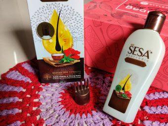 SESA Hair Oil -Amazing ayurvedic hairoil-By mansi_kajani