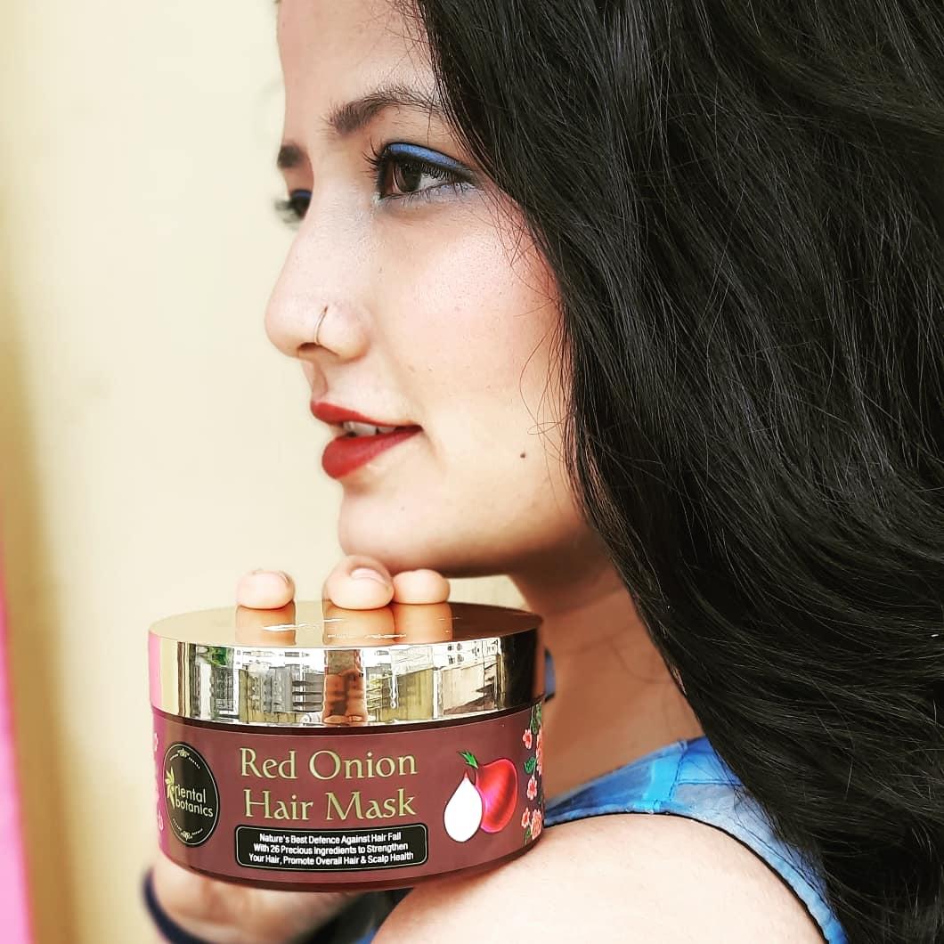 Oriental Botanics Red Onion Hair Mask pic 1-Love this product-By priyanka_latwal