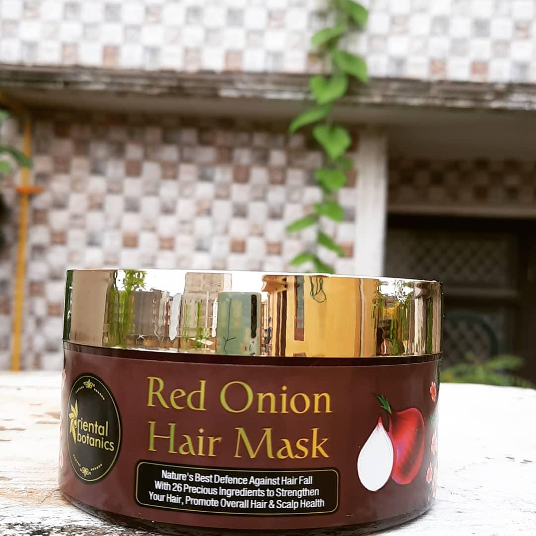 Oriental Botanics Red Onion Hair Mask pic 2-Love this product-By priyanka_latwal