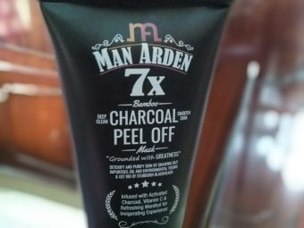 Man Arden 7X Activated Charcoal Face Mask pic 1-superb product-By yvssvijay