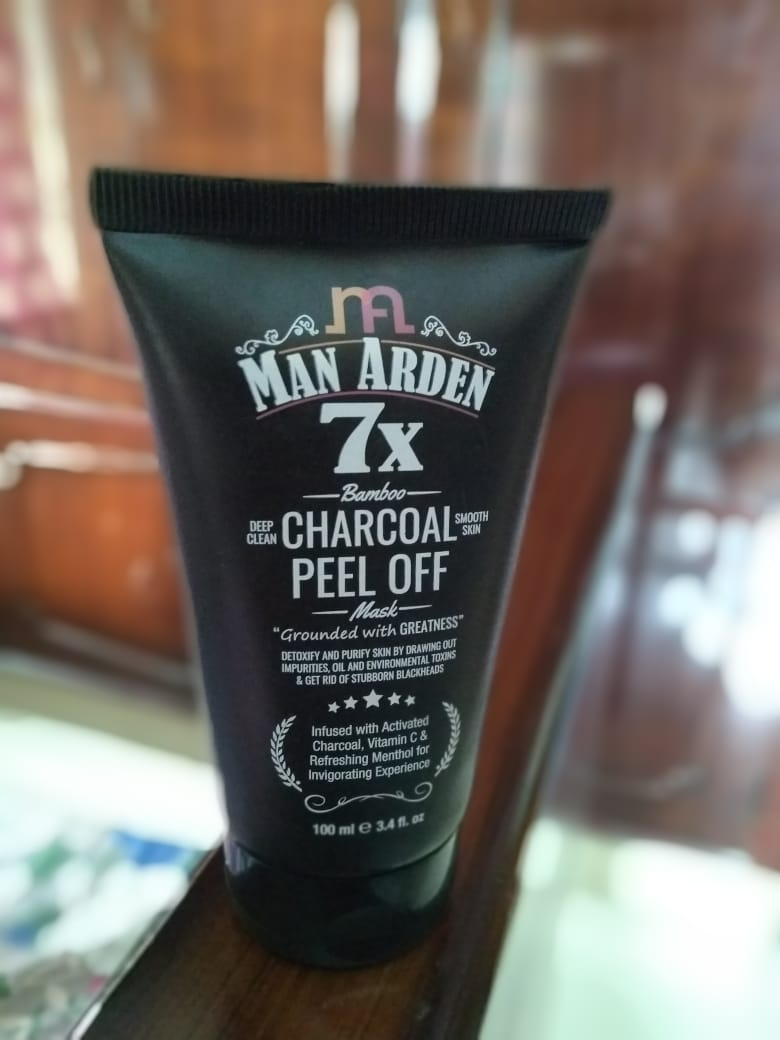 Man Arden 7X Activated Charcoal Face Mask-superb product-By yvssvijay-1