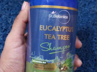 St.Botanica Eucalyptus & Tea Tree Dry Hair Repair Shampoo -Nice product-By gaurkanika