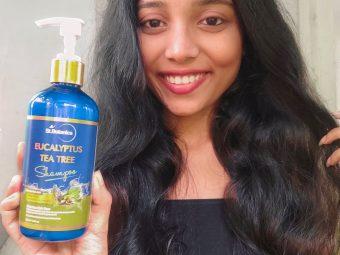 St.Botanica Eucalyptus & Tea Tree Dry Hair Repair Shampoo -Best Shampoo for dandruff and dry hair-By soumita_samanta_