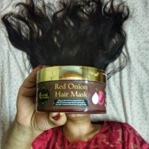 Oriental Botanics Red Onion Hair Mask -Good mask for hairfall control-By shivani_upadhyay