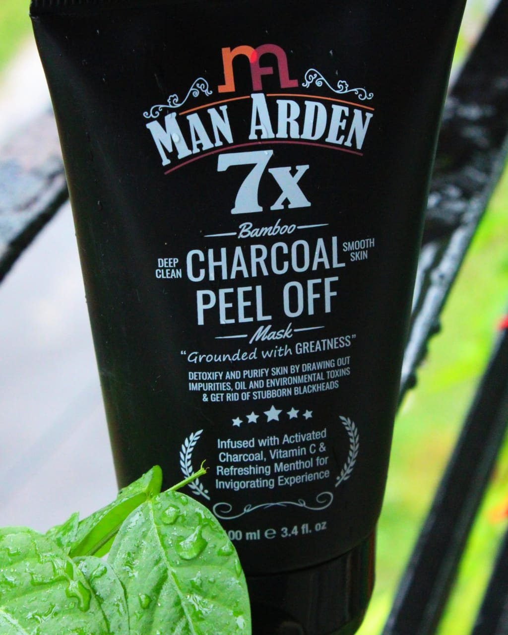 Man Arden 7X Activated Charcoal Peel Off Mask -Very nice-By sassy_supriyo