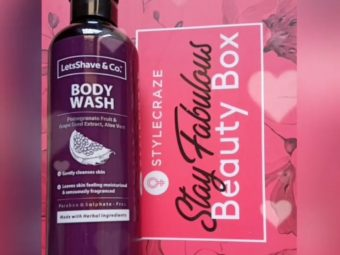 LetsShave Body Wash -Loved the fragrance and gentleness-By tulipragi