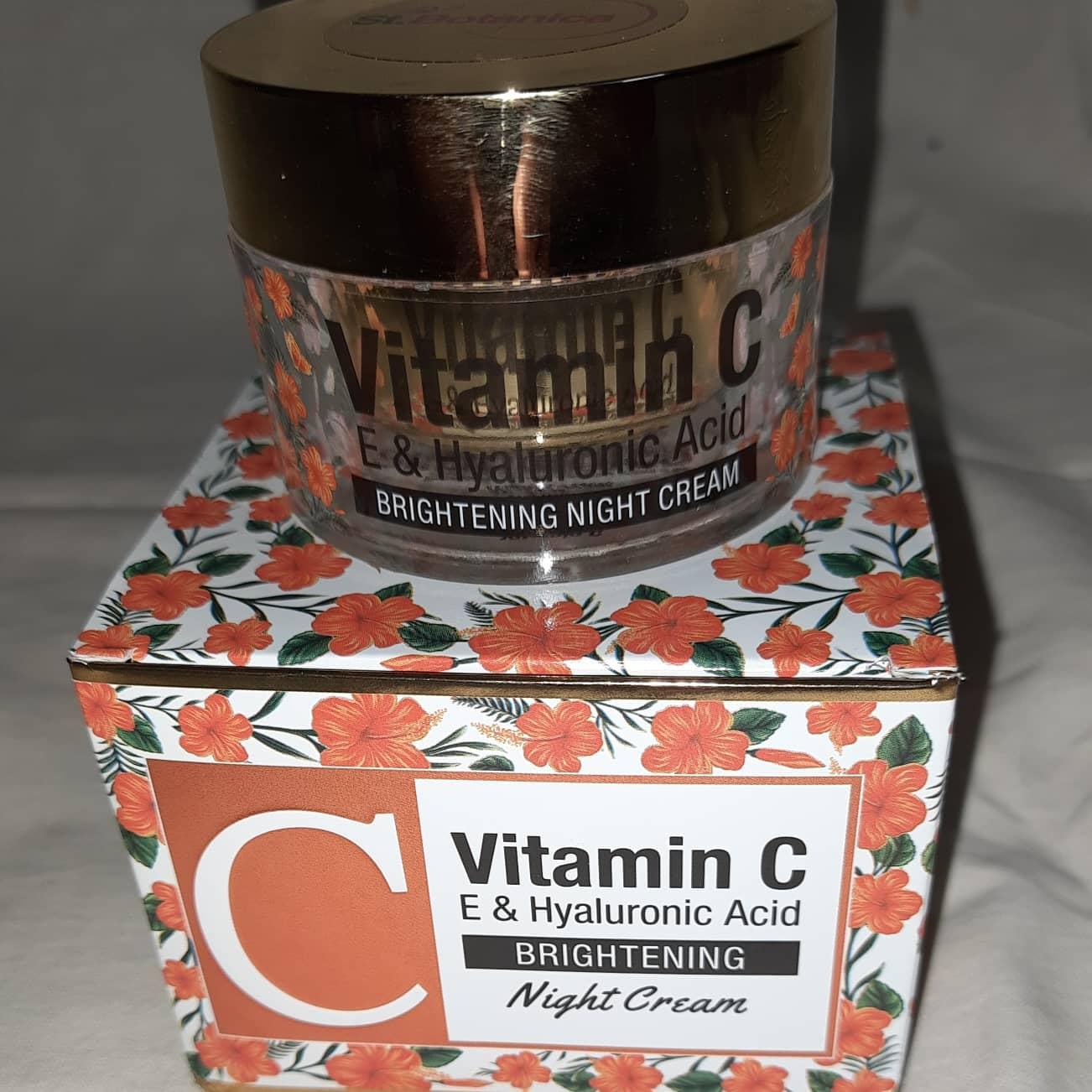 St.Botanica Vitamin C Brightening Night Cream-Night cream-By anupama_roy