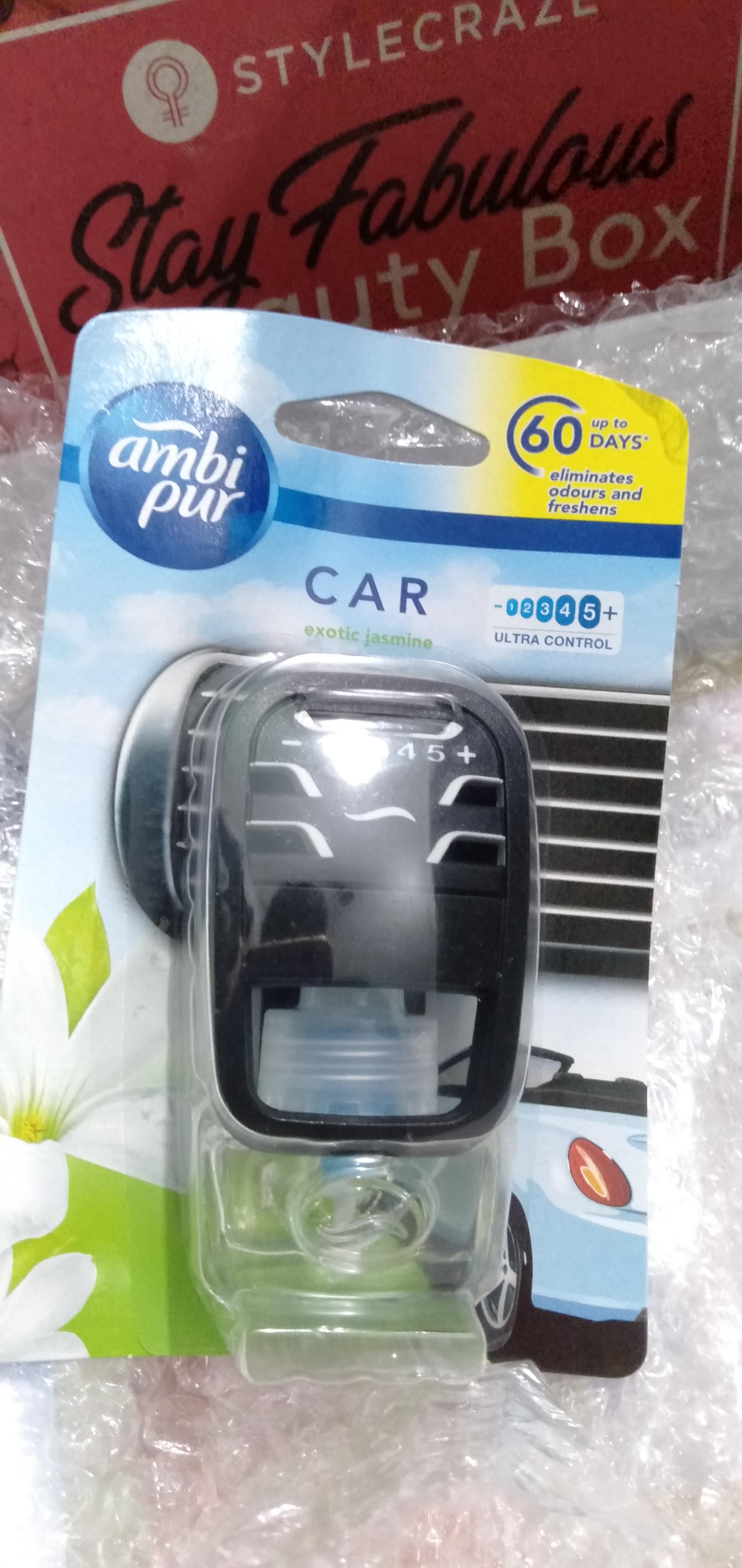 Ambi Pur Car Air Freshener – Exotic Jasmine-Refreshing fragrance-By thatlucknowgirl-1