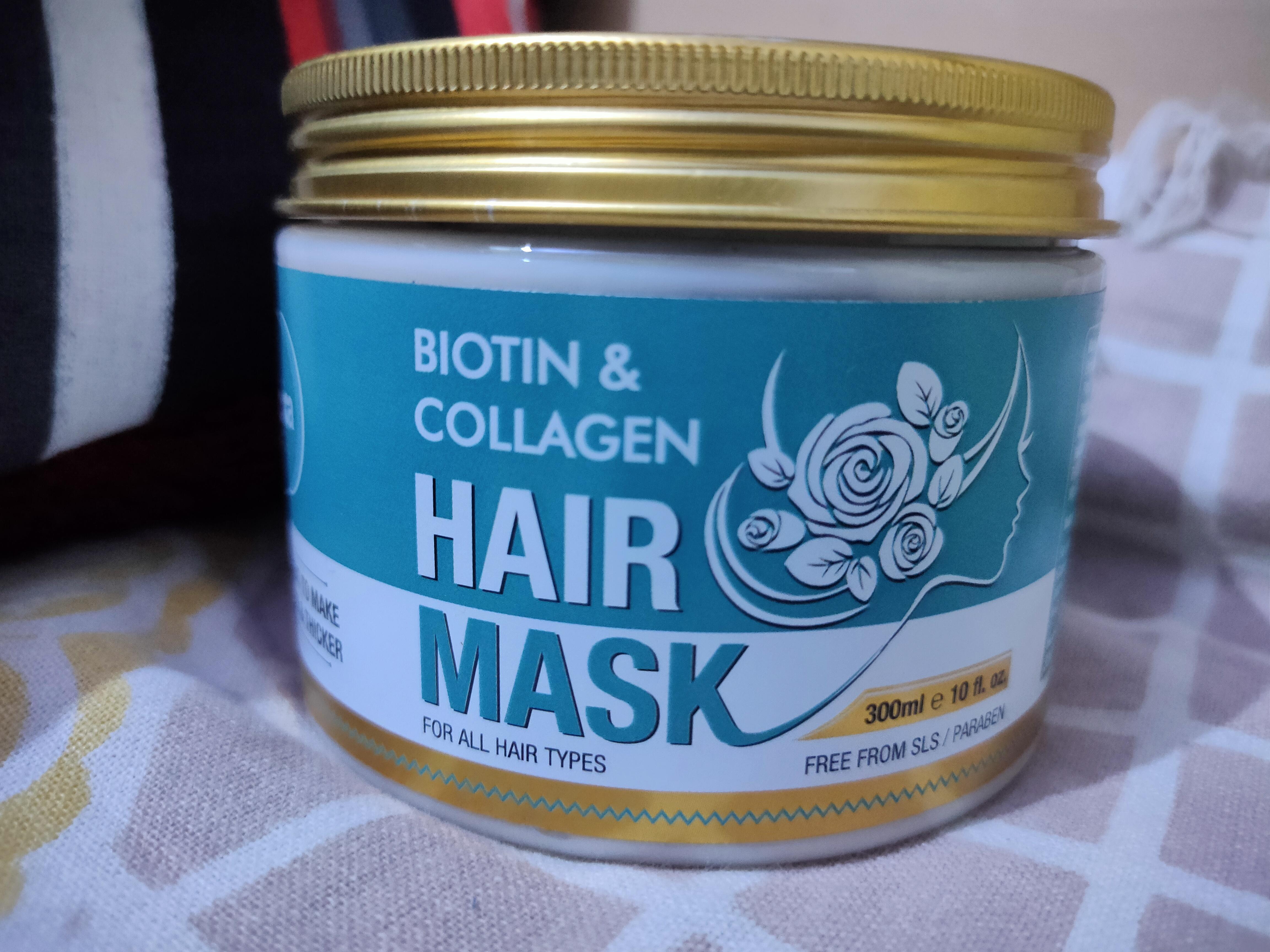 St.Botanica Biotin & Collagen Hair Mask pic 1-Best Hair Mask ever!!-By kirti_sameer