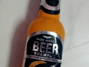 Park Avenue Beer Shampoo -Perfect for damaged hair-By beautytechgirl