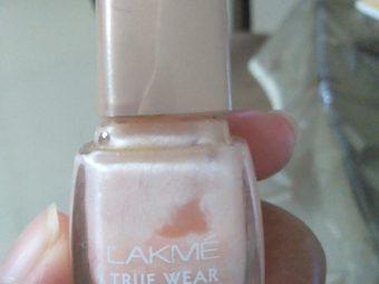 Lakme True Wear Nail Color -Good nail polish for daily use-By sreekala