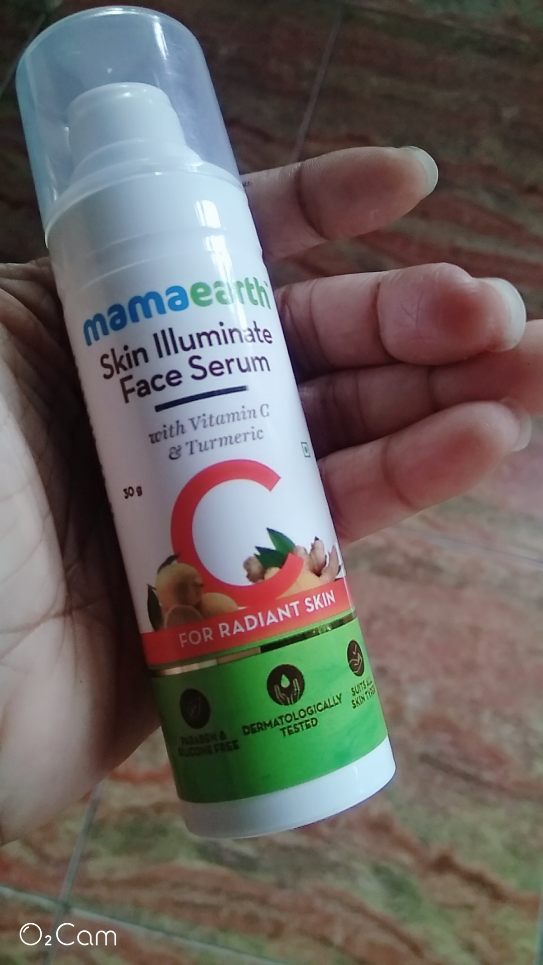 Mamaearth Skin Illuminate Face Serum With Vitamin C & Turmeric -The bestt serum!!!-By __the_rapunzelll__